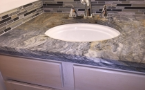 Countertop with Custom back & side splash
