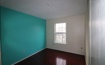 Painting Accent Wall Metallic Aqua