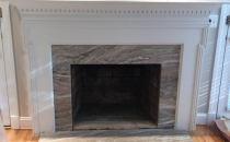 Renovation Fireplace Mantle and Frame